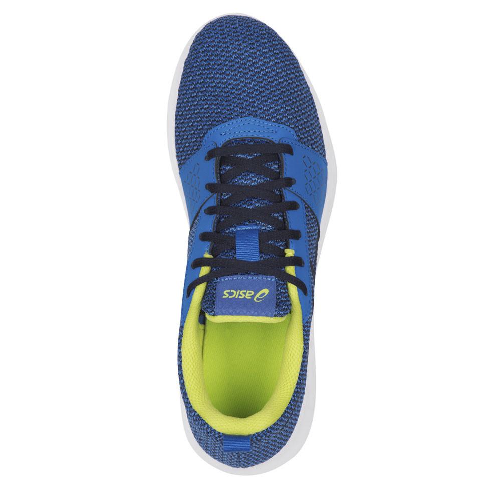 Details zu Asics Kanmei GS Junior Kinder Laufschuhe Jogging Sport Schuhe Turnschuhe Blau