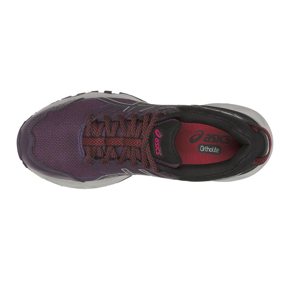 6bd3462b7 Asics Mujer Negro Violeta Gel-Sonoma 3 Sendero Correr Deporte Zapatos  Zapatillas