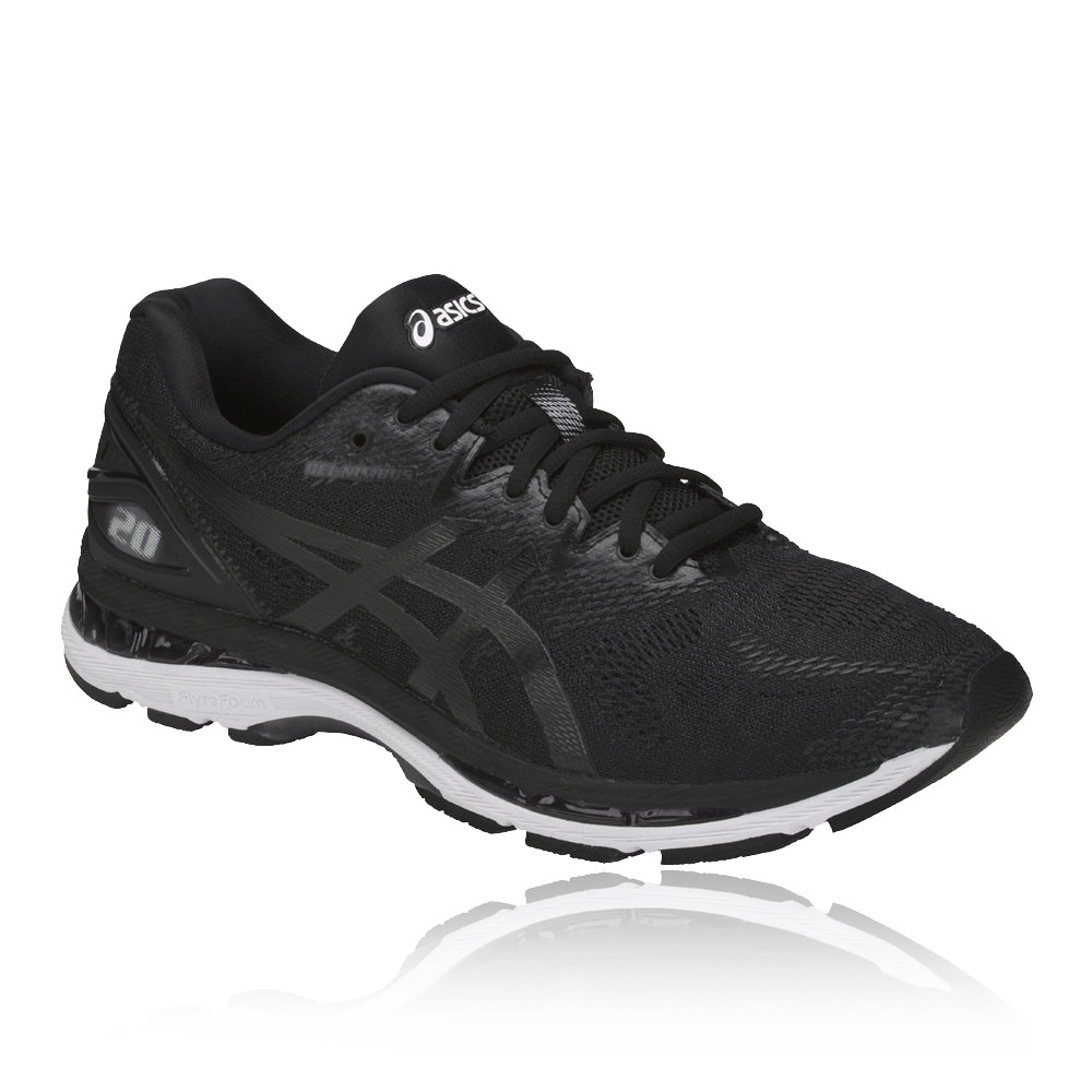 49c5719afdaea Asics Mens GEL-NIMBUS 20 Running Shoes Trainers Sneakers Black Sports  Breathable