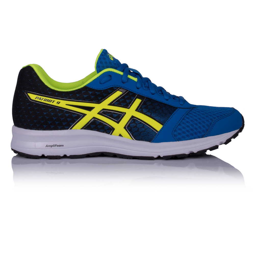 Asics Patriot  Blue Running Shoes