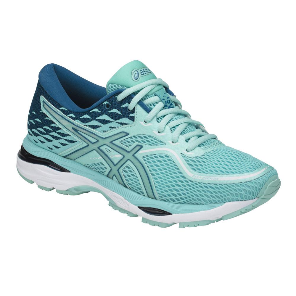 d43891ed1320f Asics Mujer Gel-cumulus 19 Correr Zapatos Zapatillas Azul Deporte Running