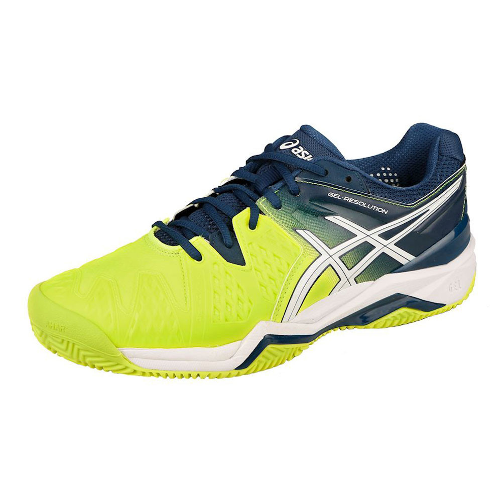 93c41e2faebc Asics Gel-Resolution 6 Clay Court Tennis Shoes - 57% Off ...