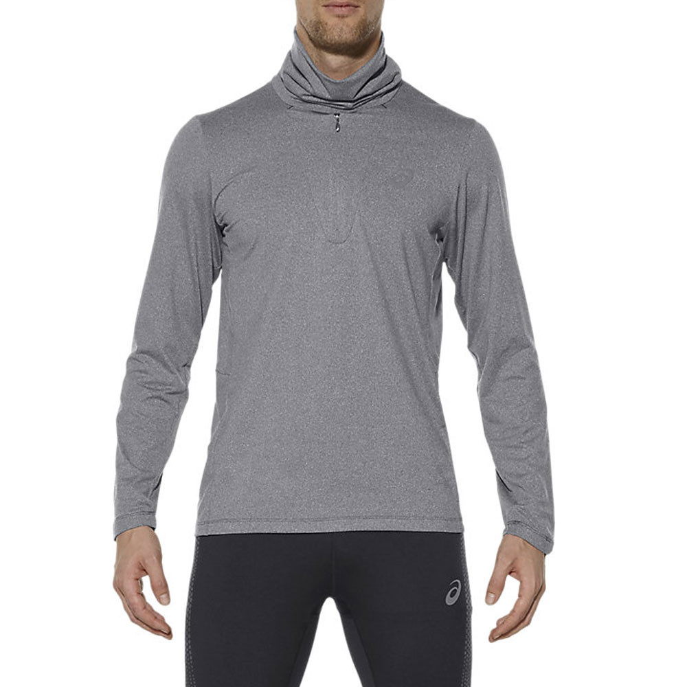Asics Thermopolis demi zip t-shirt running