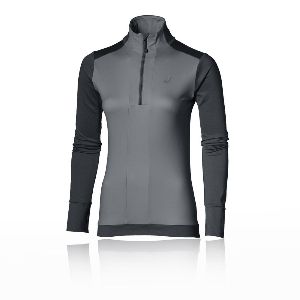 Asics Winter camiseta de running 1/2 cremallera para mujer - AW17