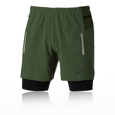 Asics FujiTrail 2-In-1 Running Shorts