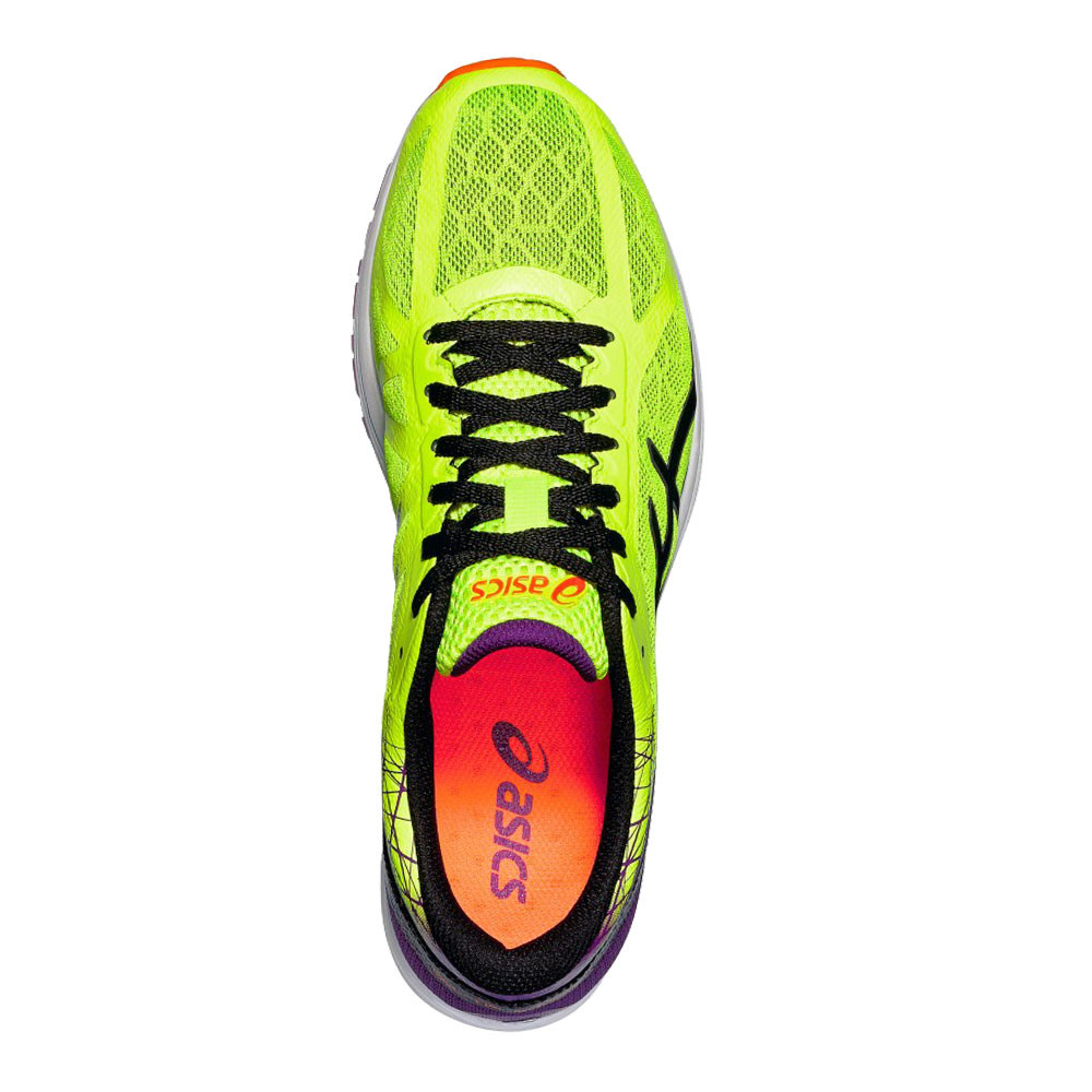 a22832d28b597 Asics Mens Gel-DS Racer 11 Running Sports Shoes Trainers Sneakers Yellow