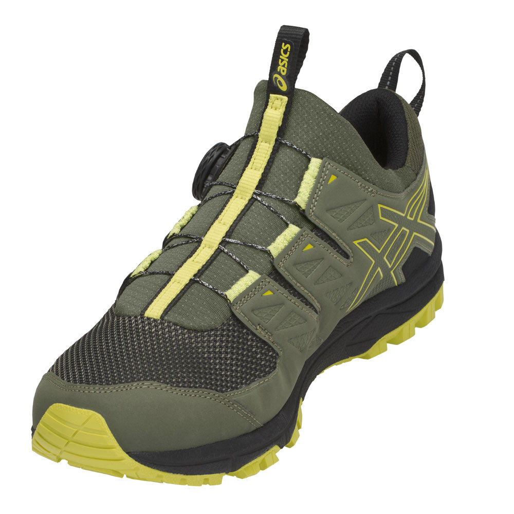Asics Uomo Gel-Fujirado Trail Scarpe da Ginnastica Corsa Sport Verde ... d4ee2b1b768