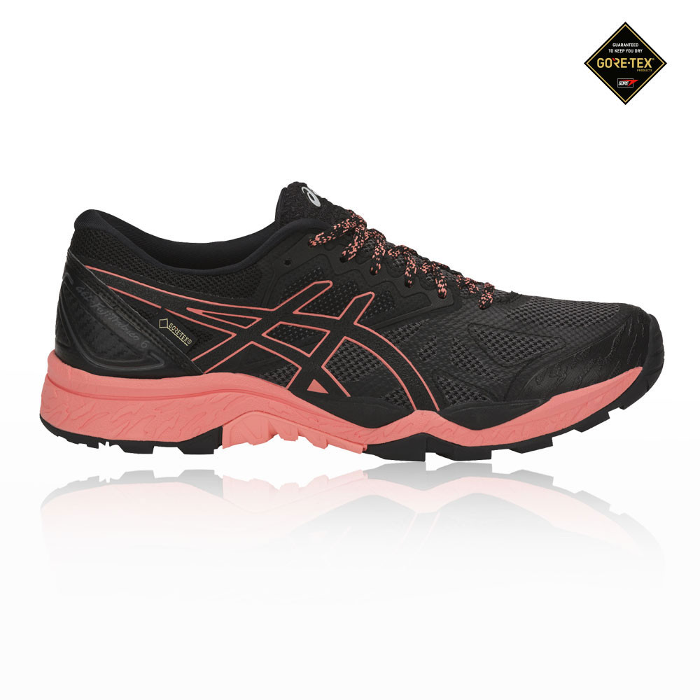 brand new bc6a3 dd290 Details about Asics Womens Gel-Fujitrabuco 6 GORE-TEX Trail Running Shoes  Trainers Sneakers