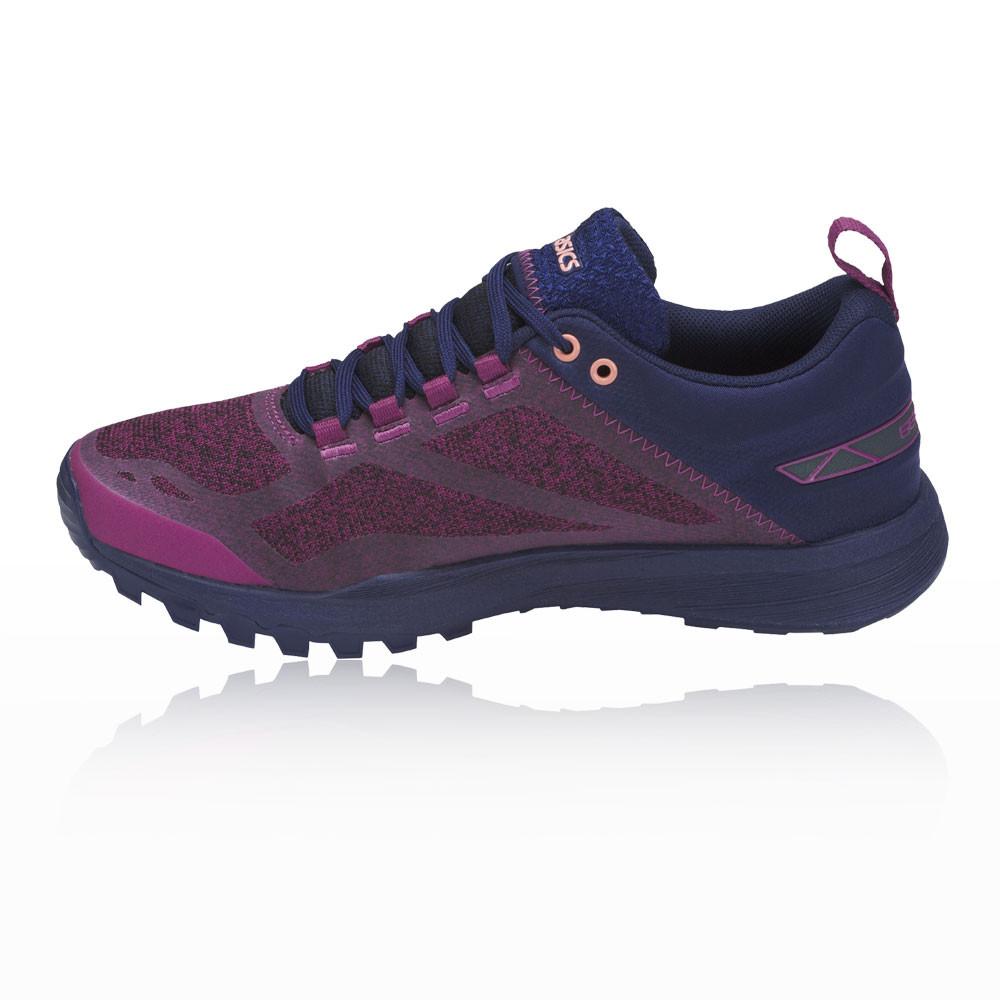 b60c05f4f0e Asics Femmes Gecko XT Trail Chaussures Course À Pied Baskets Bleu Marine  Violet