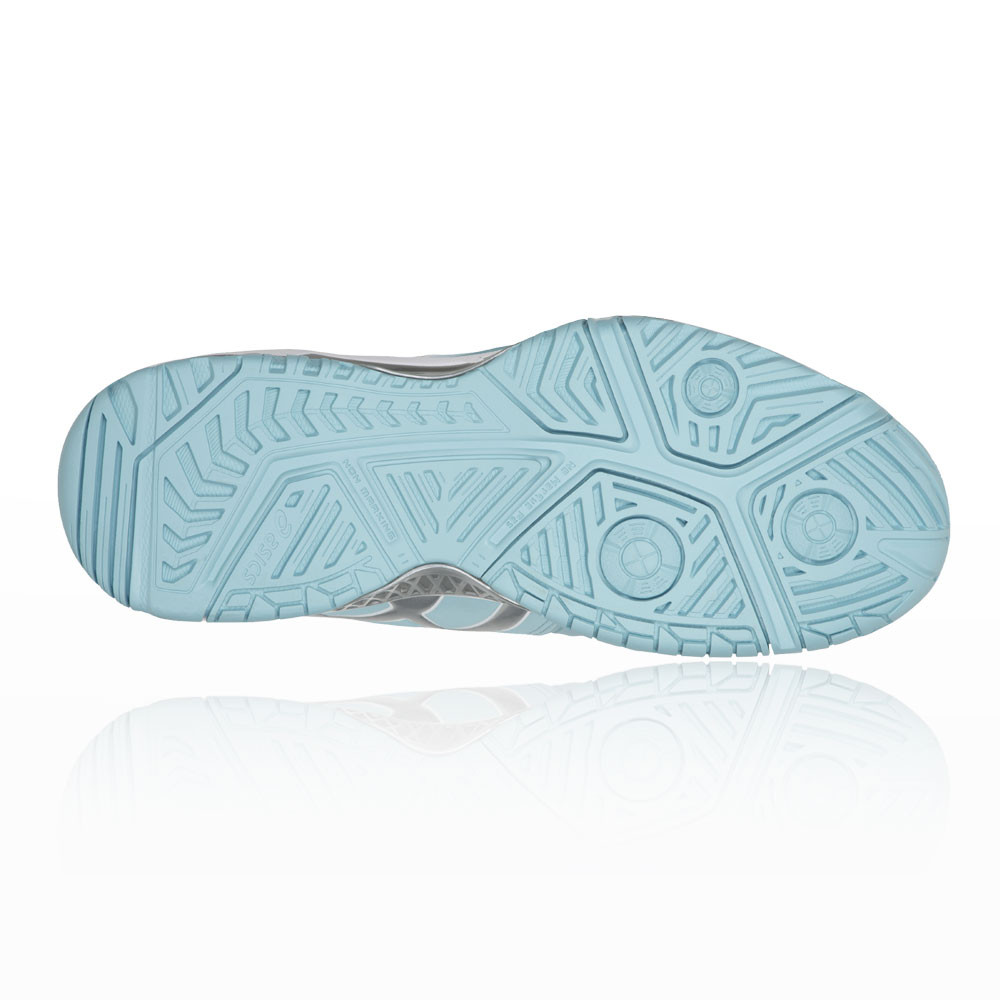 Asics Donna Gel-Resolution 7 Tennis Scarpe da Bianco Ginnastica Blu Bianco da Traspirante 2fb6ac