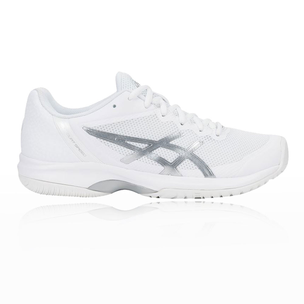 Asics Womens Gel Court Speed Tennis Shoes White Breathable Website Links United States Courts Of The Sole Unit And Link Forefoot Rearfoot Preparing You For Propulsion So Can Move Forward With Confidence Choose
