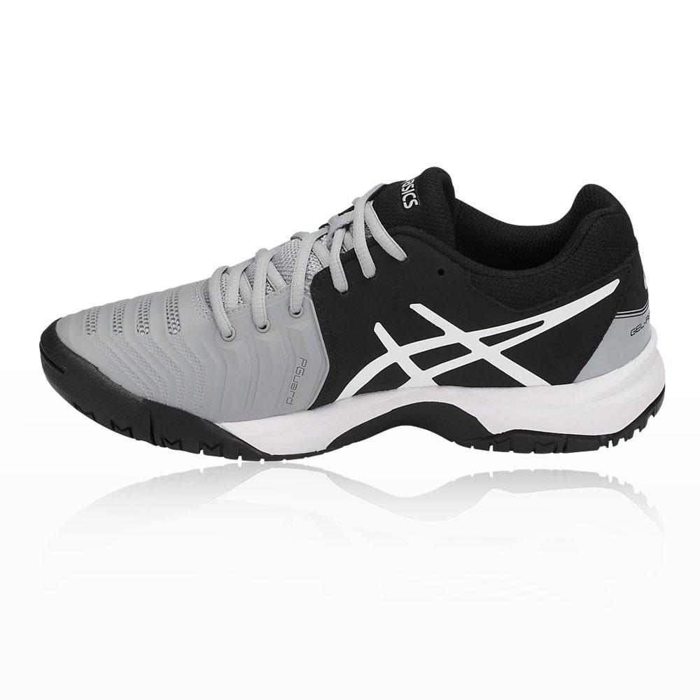 f348eb3b2171b Asics Garçons Gel-Resolution 7 GS Chaussures De Tennis Baskets Noir Gris