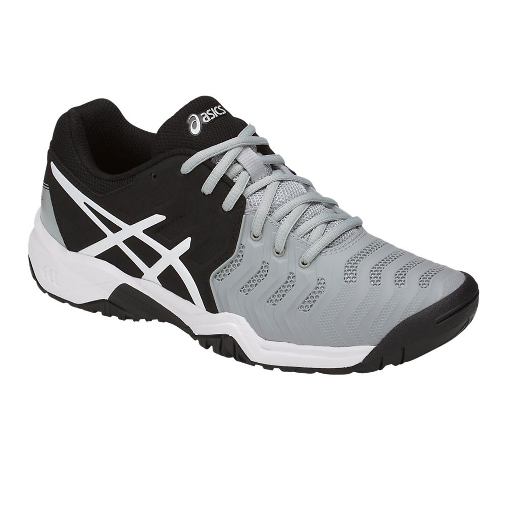 Asics Resolution Junior Tennis Shoes