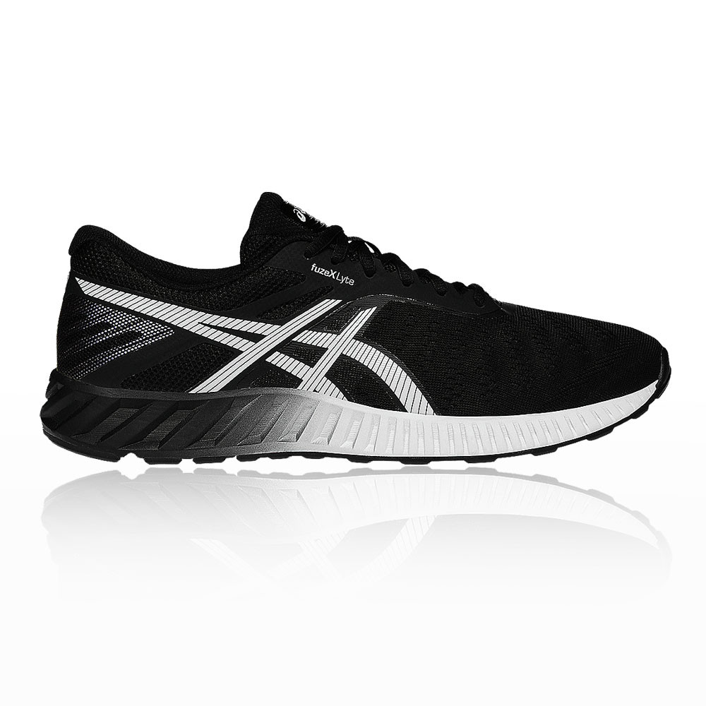Asics hommes Fuze X Lyte Running Chaussures blanc Trainers Sneakers noir blanc Chaussures Sports d5b6f8