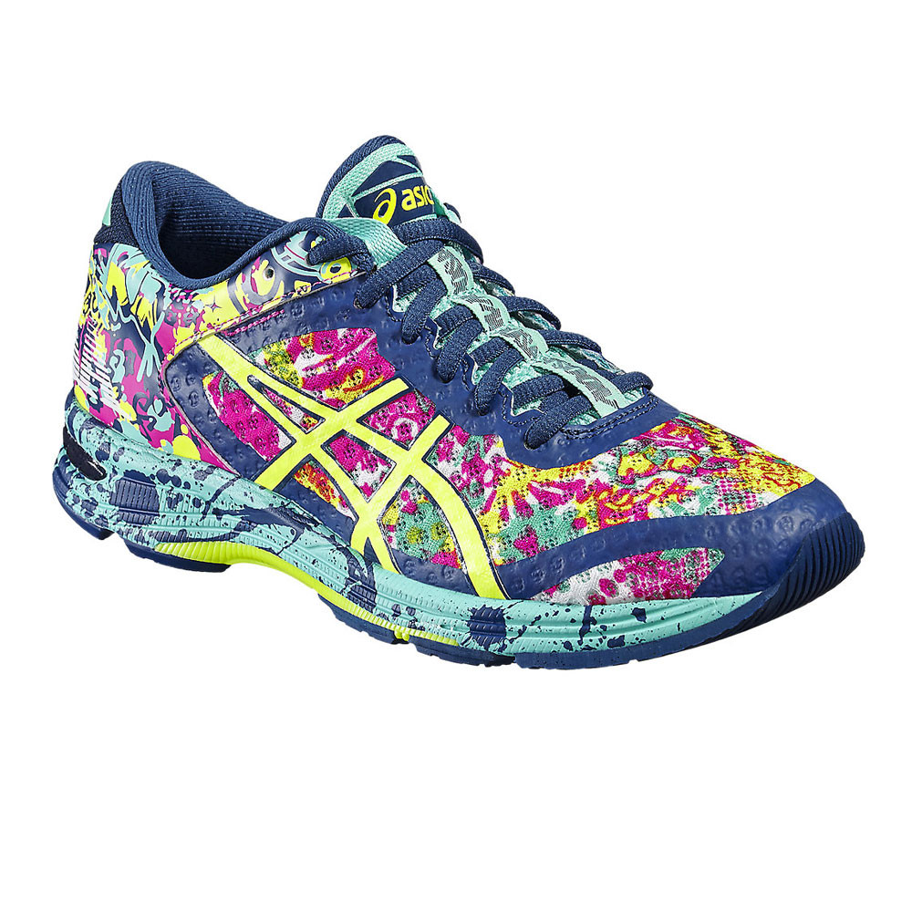06101af2f134 Details about Asics Womens Gel-Noosa Tri 11 Running Shoes Trainers Sneakers  Blue Green Pink