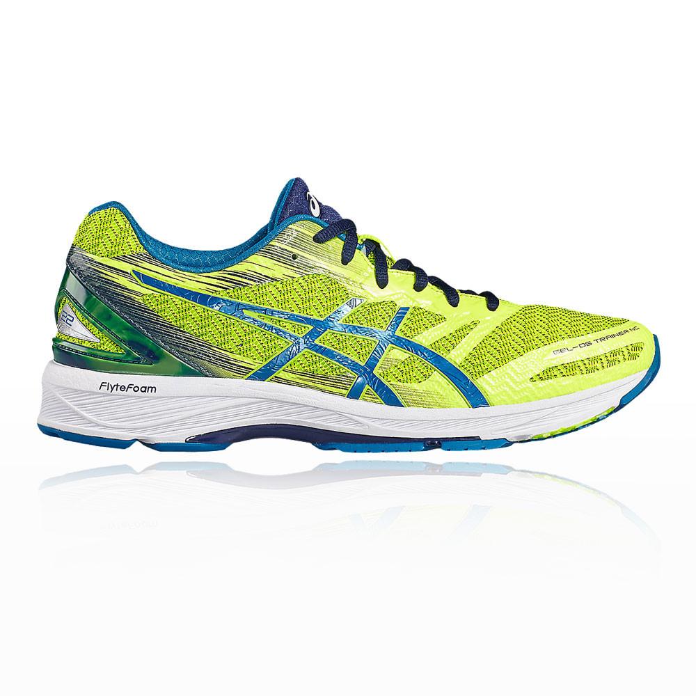 ASICS GEL DS TRAINER 22 Da Donna Rosso Blu Supporto Corsa Scarpe da ginnastica scarpe sportive