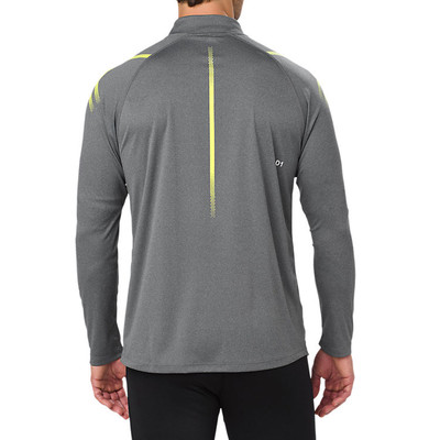 Asics Icon Long-Sleeve Half-Zip Running Top