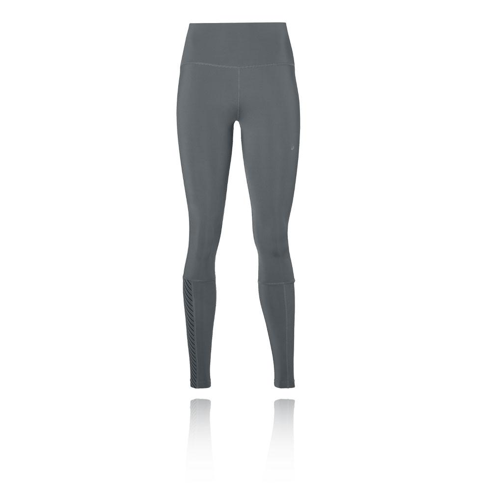 d89794ff95 Asics Donna Vita Alta Collant Leggings Sport Pantaloni Grigio | eBay