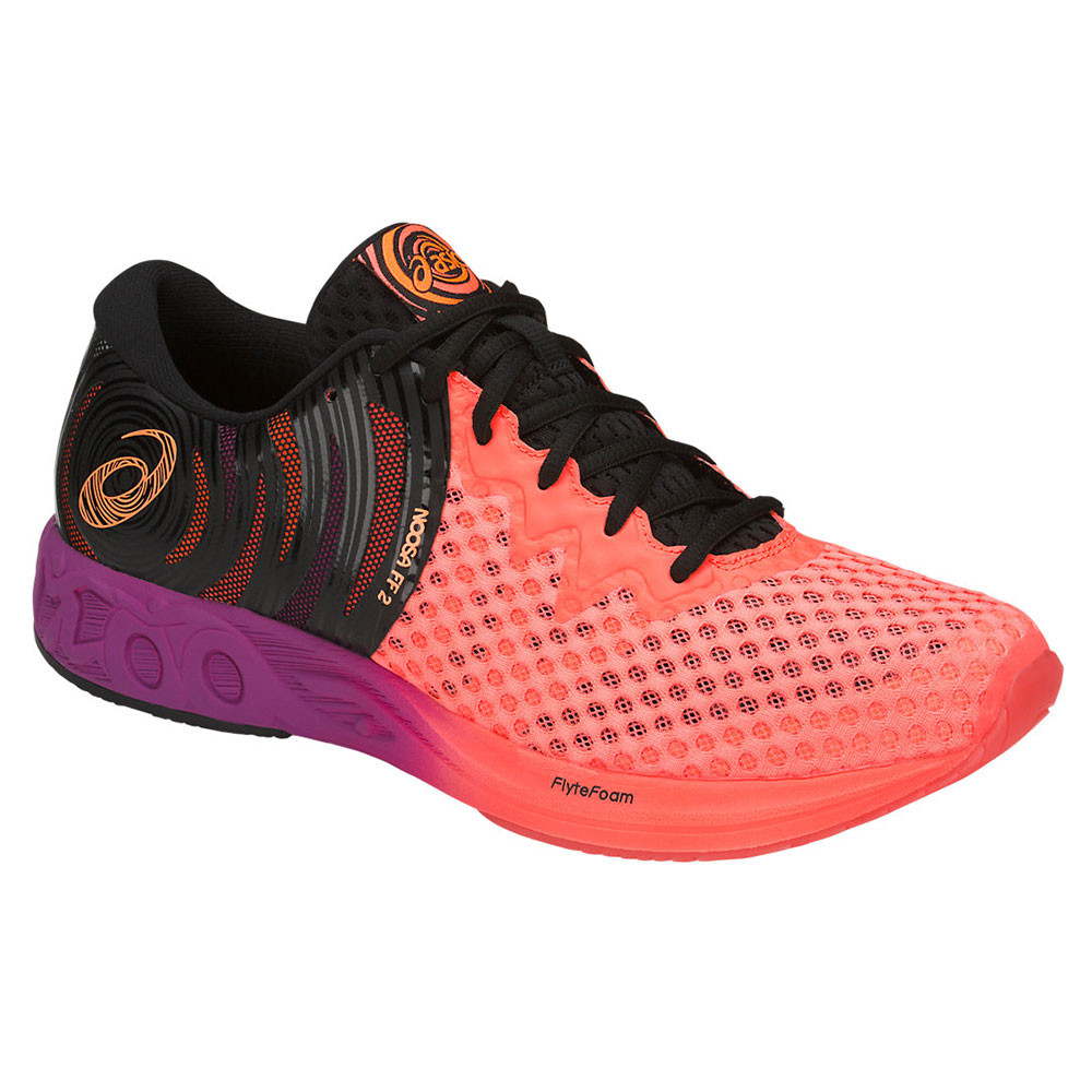 Detalles de Asics Hombre Gel noosa Ff 2 Correr Zapatos Zapatillas Naranja Deporte Running