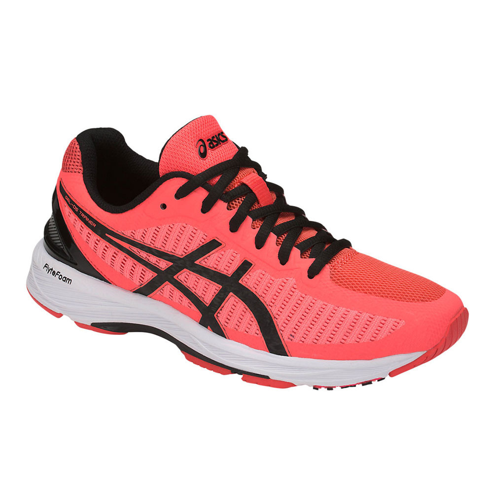 Details about Asics Womens GEL-DS Trainer 23 Running Shoes Trainers  Sneakers Orange Pink