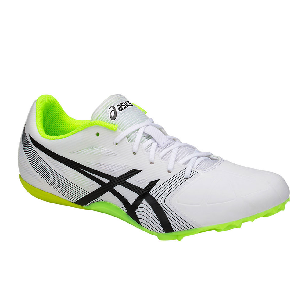 40ad8287411 Asics Unisexe Hyper Sprint 6 Chaussures De Course À Pointes Athlétisme Blanc
