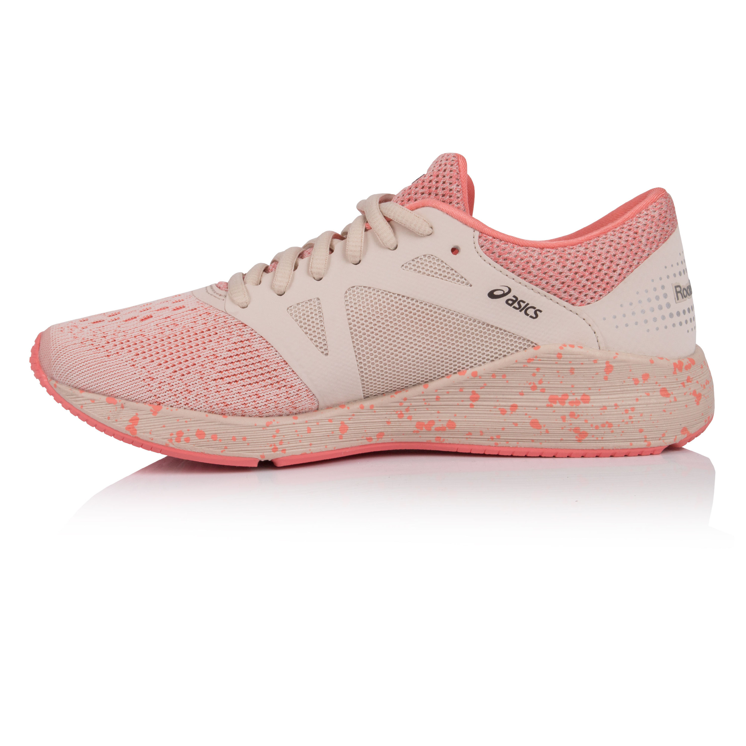 ASICS Womens Roadhawk Sports FF Running Chaussures Trainers Baskets Rose Sports Roadhawk Breathable 868848
