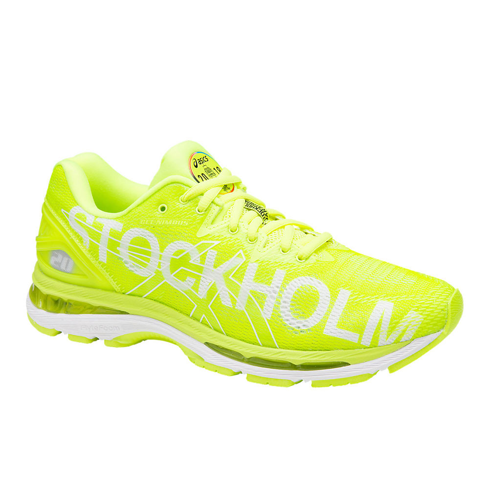 ASICS GEL-Nimbus 20 Running Shoe(Men's) -Black/Neon Lime Buy Cheap From China wBqJv