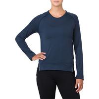 Asics sin costuras Long Sleeved para mujer camiseta de running - SS18