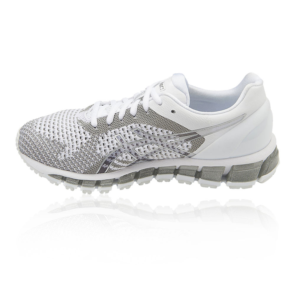 asics chaussures asics gel quantum 360 knit blanches