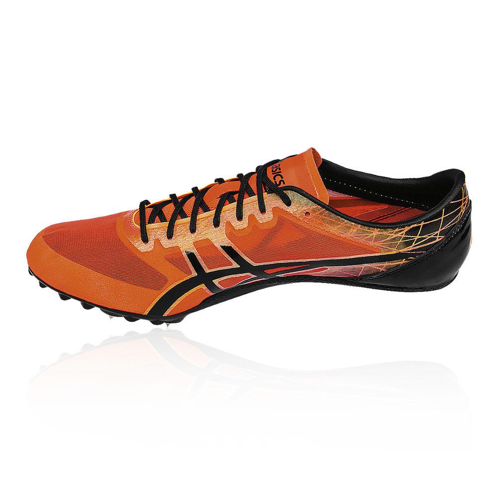 589debbd9049b Asics Uomo Sonicsprint Elite Scarpe Chiodate da Corsa Aderenza Nero  Arancione