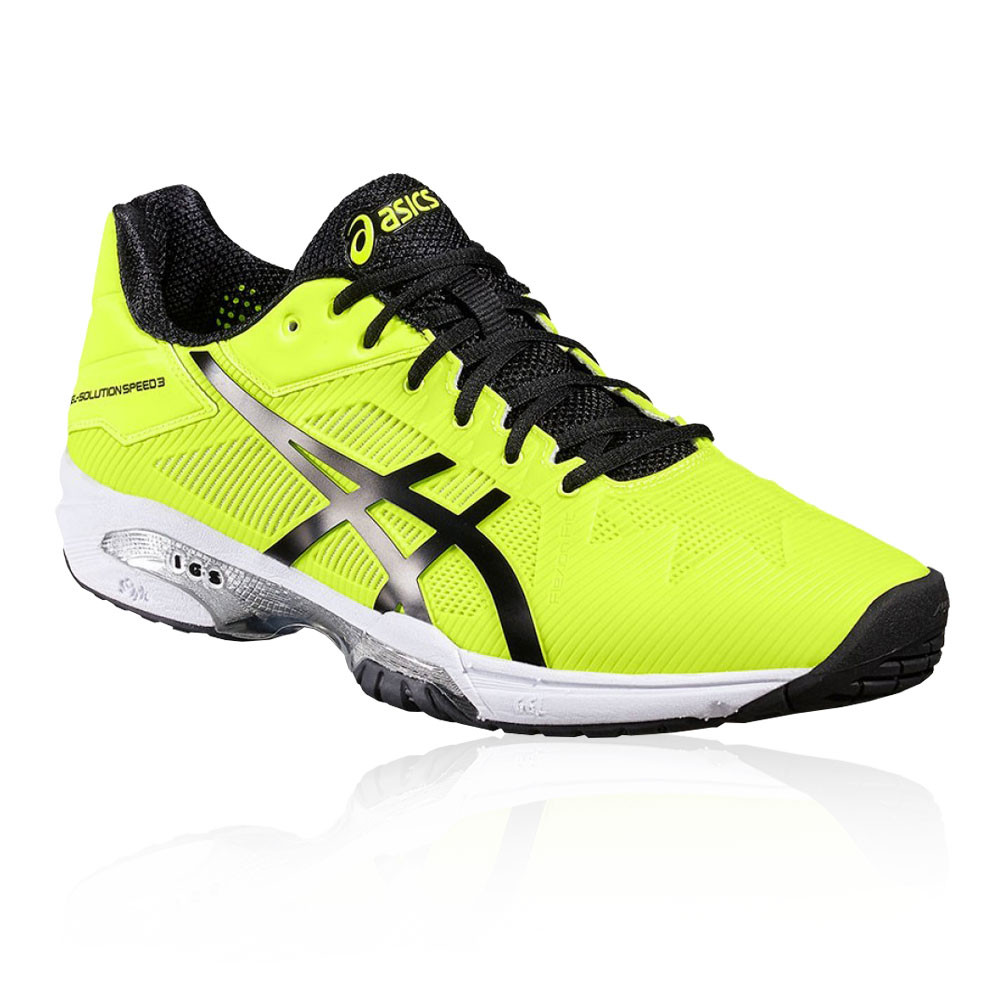 Asics Asics Asics Hombre Gel-solution Speed 3 Tenis Zapatos Amarillo Deporte Transpirable 834bf6