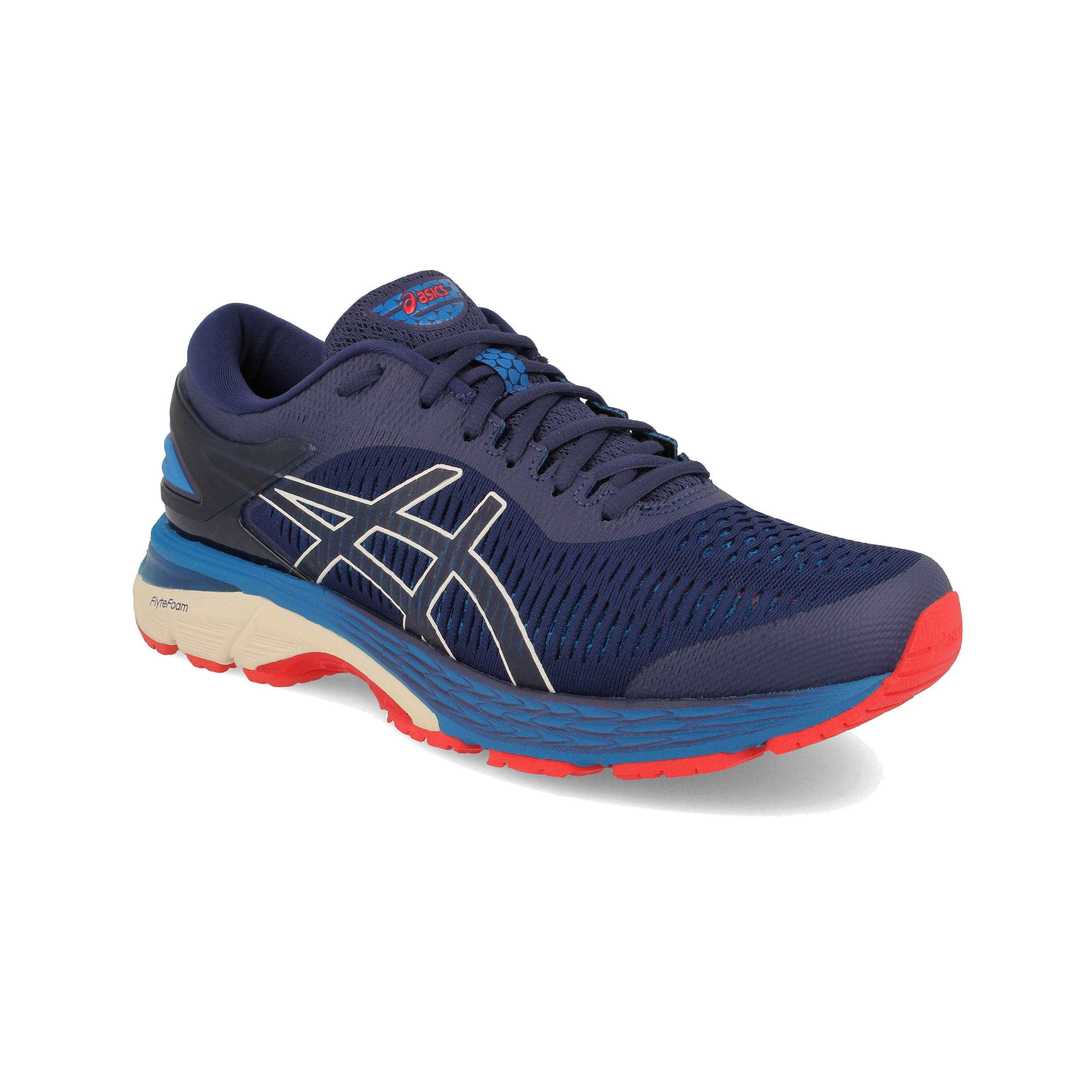 Asics Trainers  Herren Gel-Kayano 25 Running Schuhes Trainers Asics Turnschuhe Navy Blau Sports 759f33