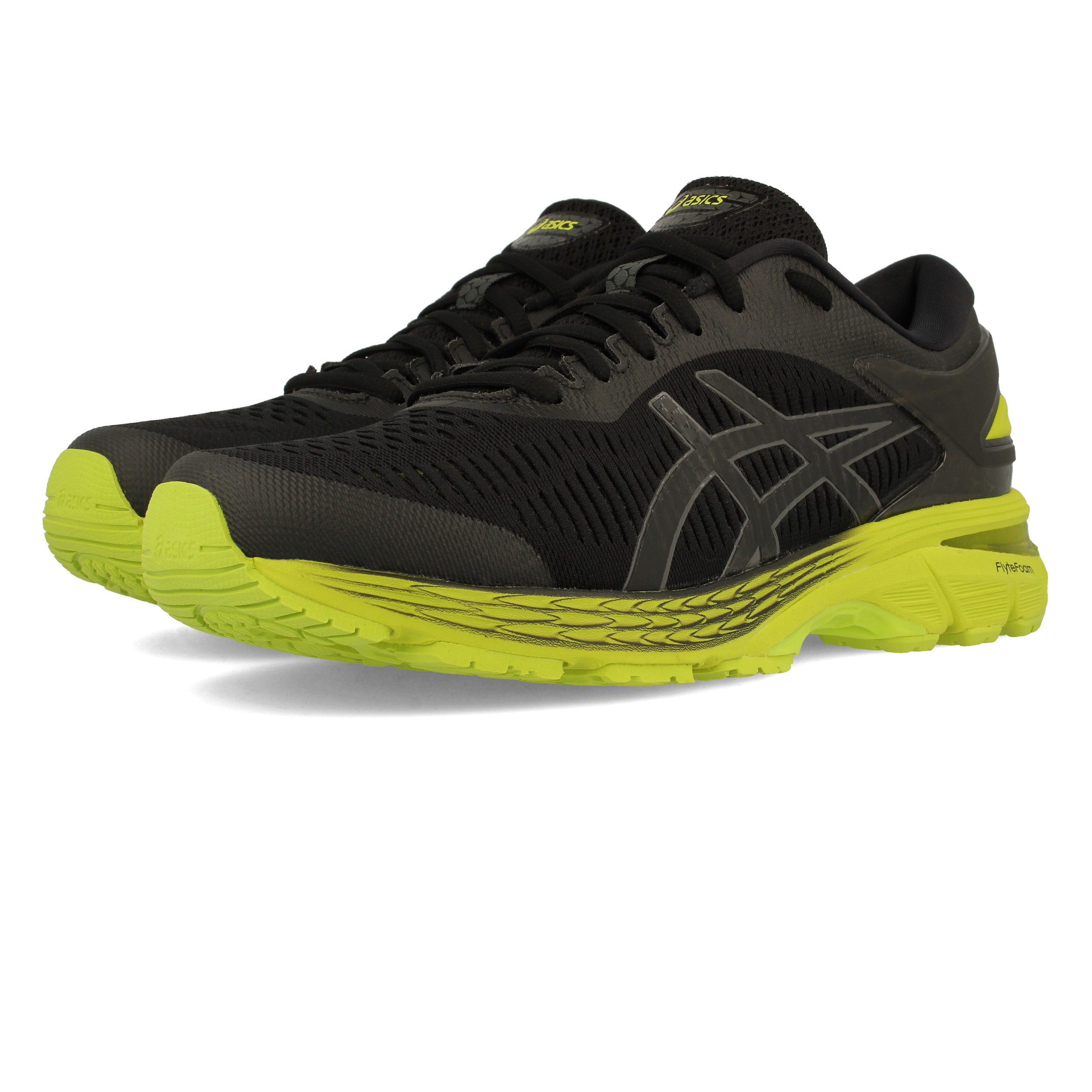 ad51c4a59cb3 Asics Mens Gel-Kayano 25 Running Shoes Trainers Sneakers Black Sports  Breathable