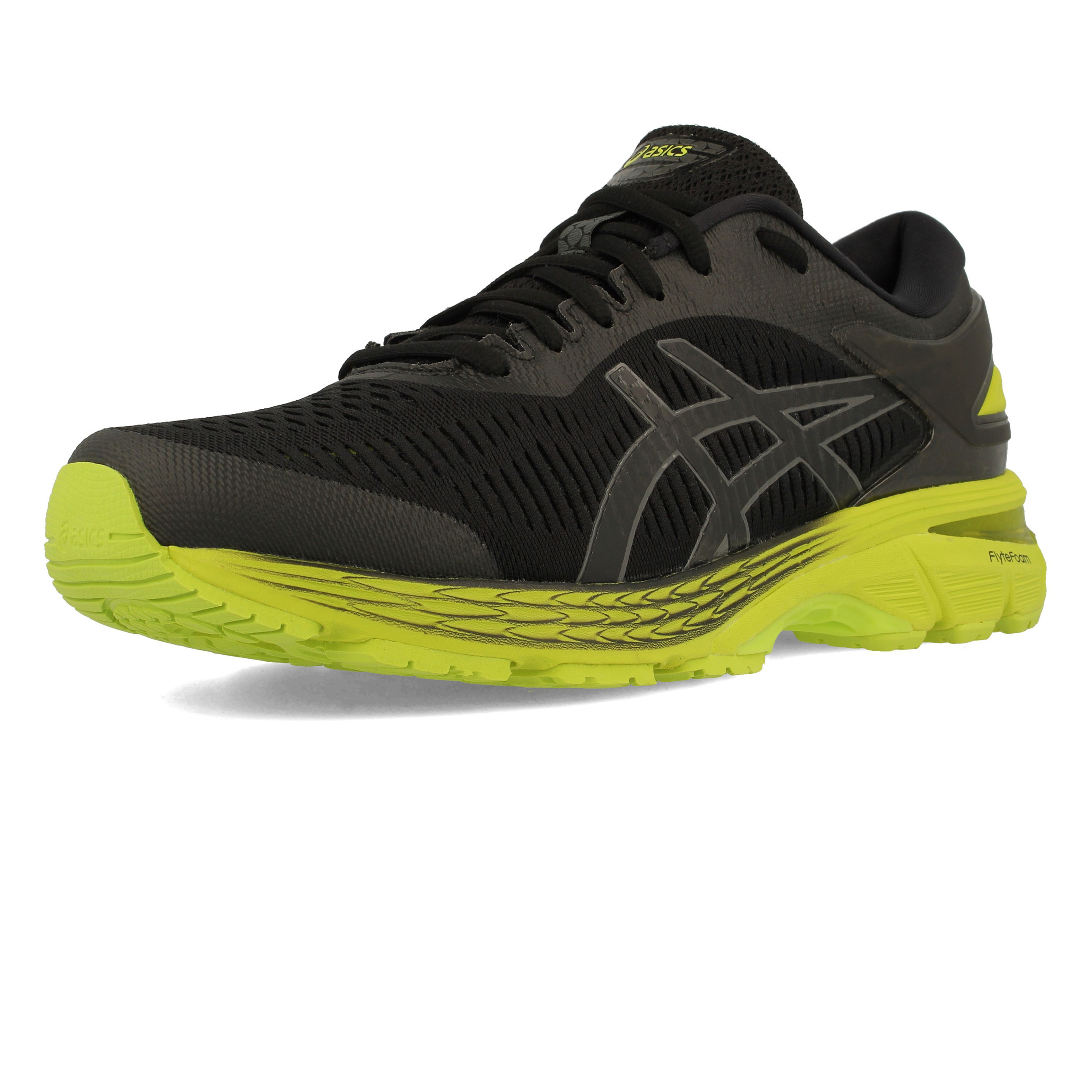 pretty nice 20f44 c2e72 Details about Asics Mens Gel-Kayano 25 Running Shoes Trainers Sneakers Black  Sports Breathable