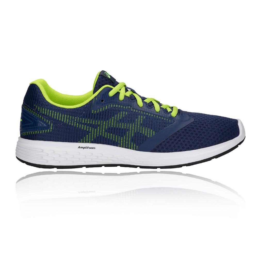 7d24dfc4a17 Asics Hombre Patriot 10 Correr Zapatos Zapatillas Azul Marino Deporte  Running