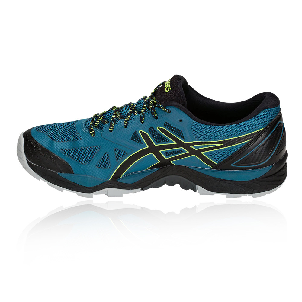 c0dc9444 Asics Hombre Gel-fujitrabuco 6 Gore-tex Sendero Correr Zapatos Zapatillas  Azul
