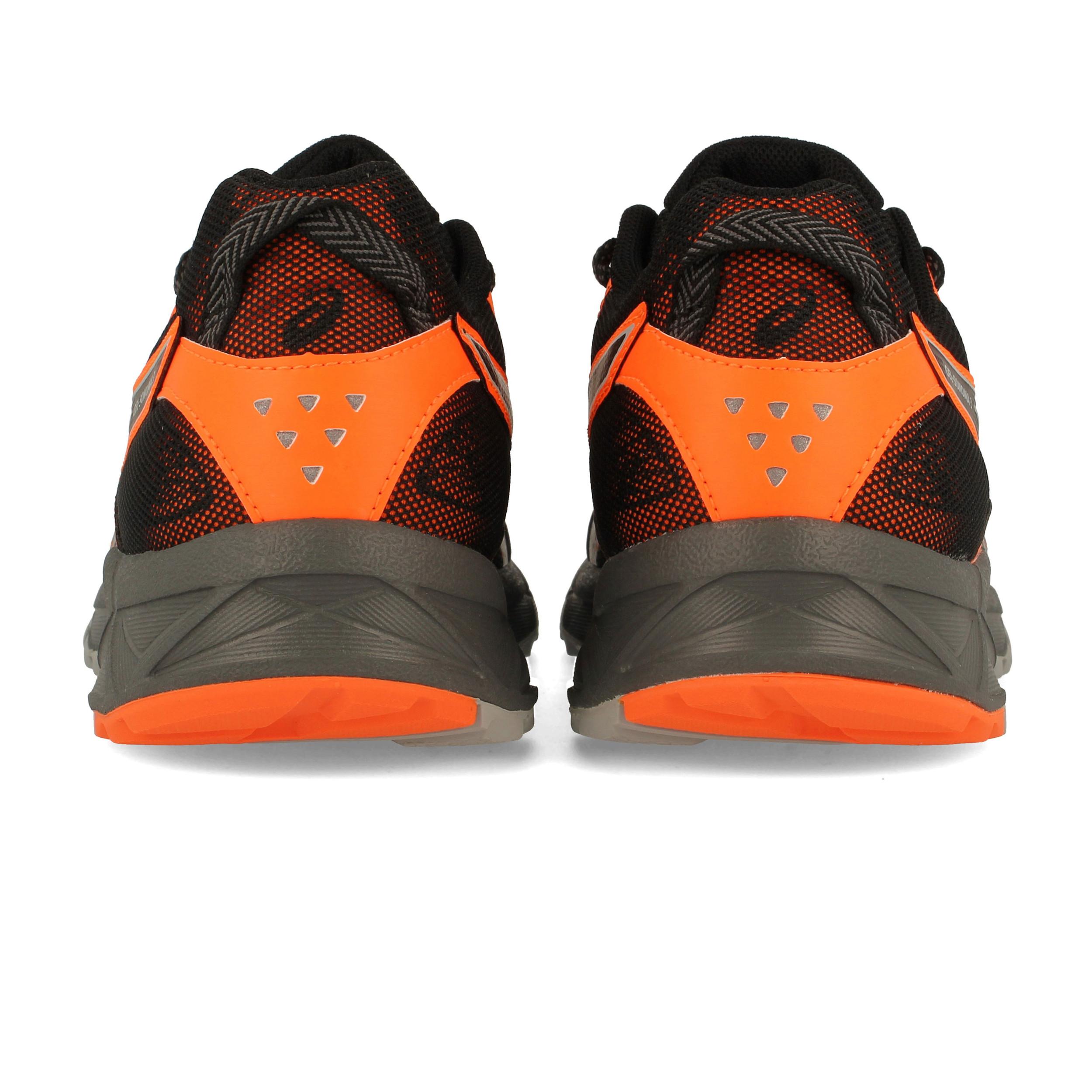 zapatillas asics gel-sonoma 3 gtx gris negro naranja rose xt