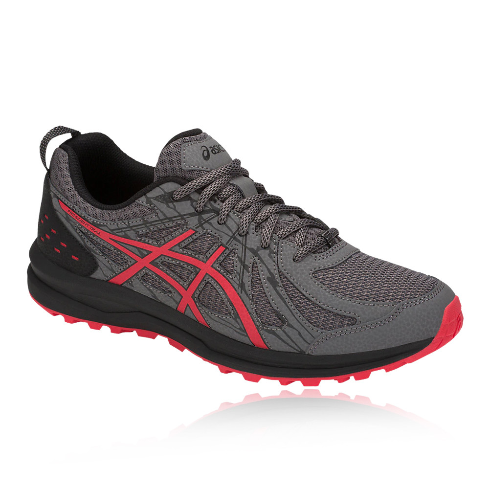 Asics hommes Frequent XT Trail Running Chaussures Trainers Sneakers Gris Sports