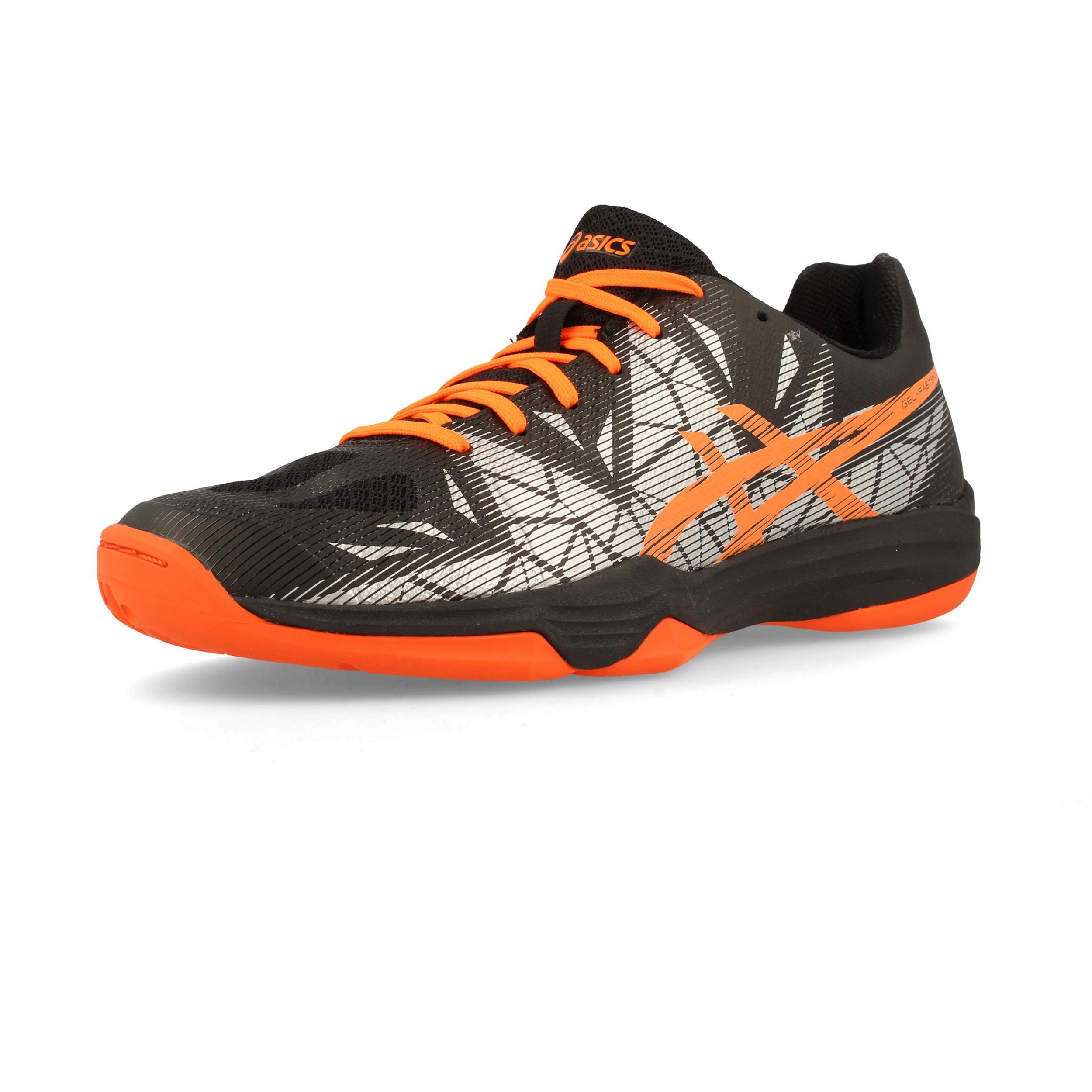 Asics Court Herren Gel Fastball 3 Court Asics Schuhe Turnschuhe Trainingsschuhe Schwarz 054734