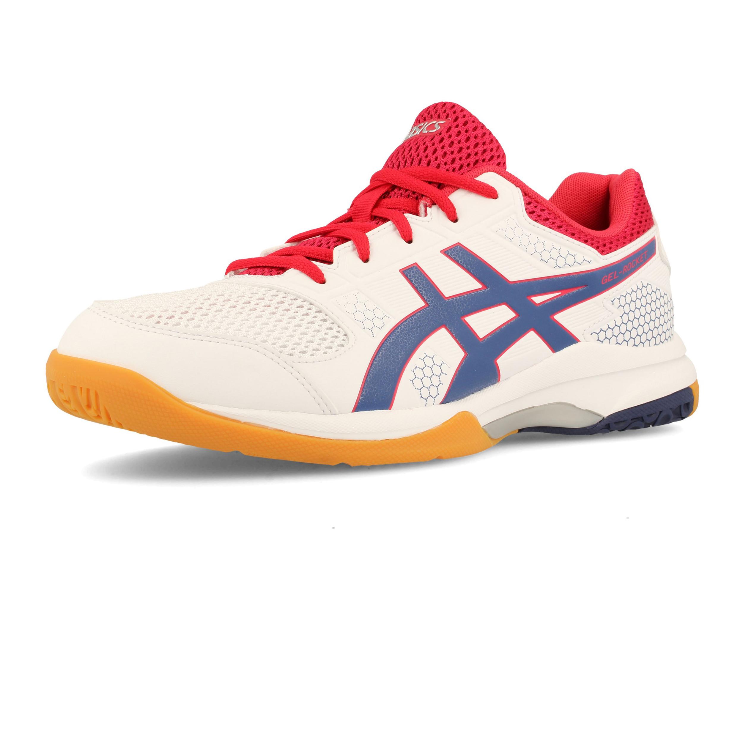 ASICS Uomo Gel Rocket 8 Scarpe Da Ginnastica Interne Sala Sport Sneakers  Bianco 75813613102