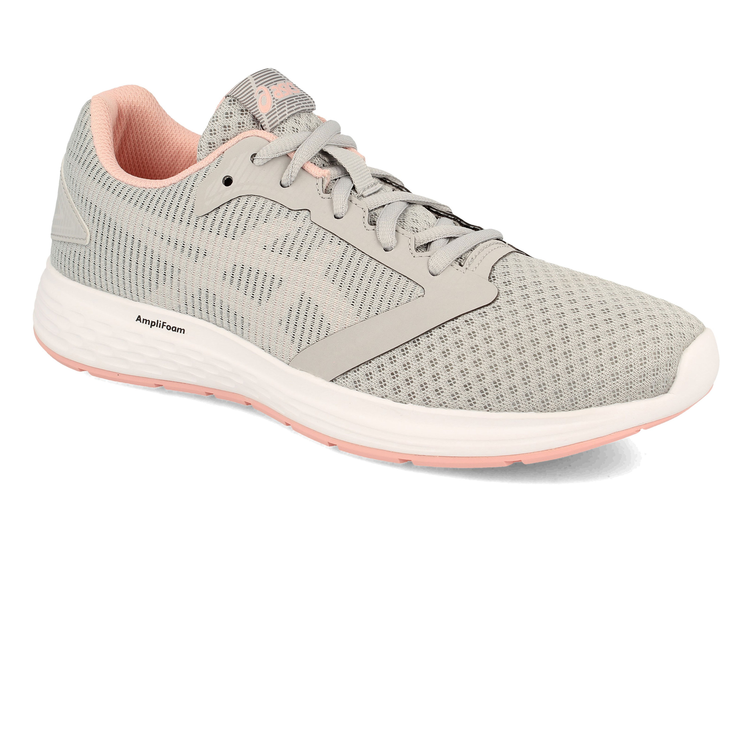 Asics Damenschuhe Patriot 10 Running Running Running Schuhes Trainers Sneakers Grau Sports Breathable a2681e