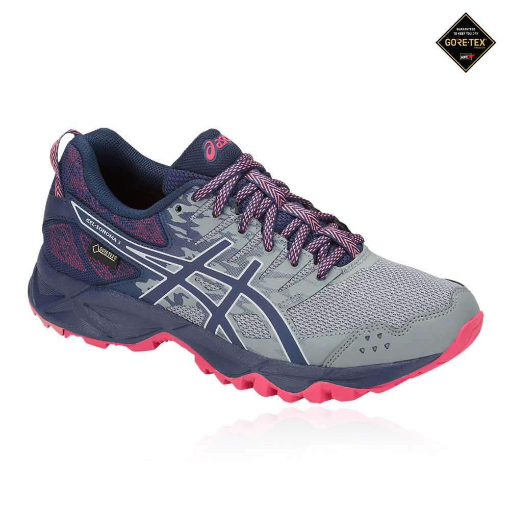 4744d7767995 Asics Gel-Sonoma 3 GORE-TEX Women's Trail Running Shoes. RRP £84.99£42.49 -  RRP £84.99