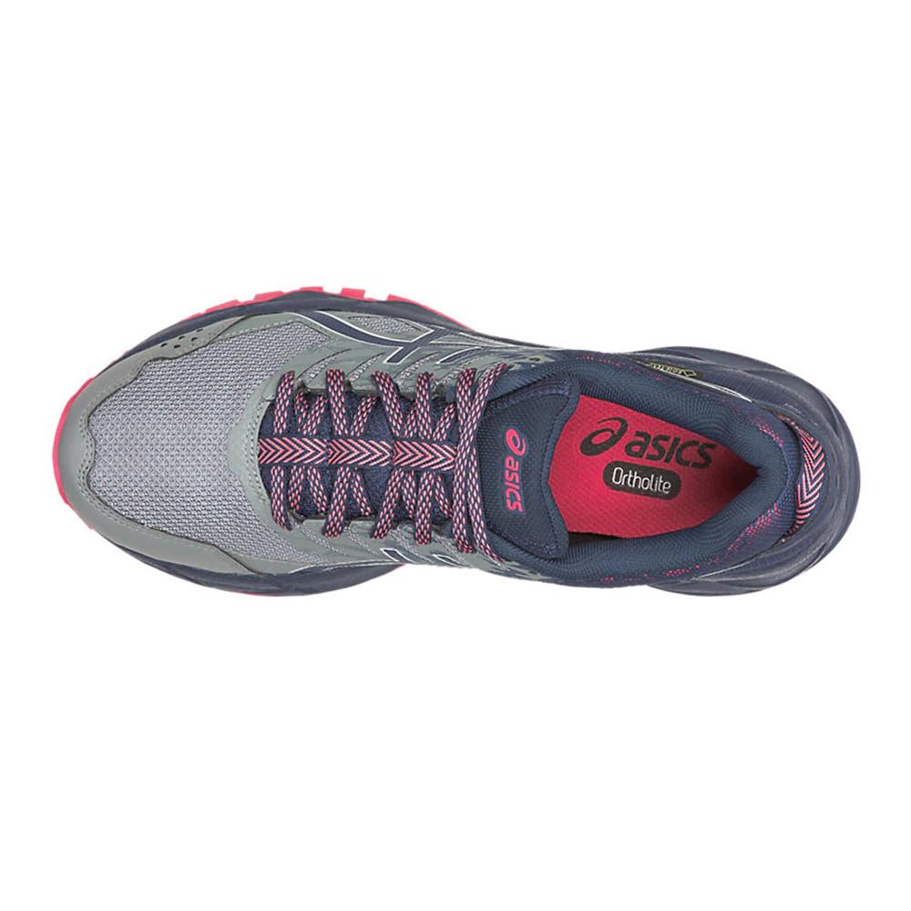 Details zu Asics Damen Gel Sonoma 3 GORE TEX Wanderschuhe Trekking Schuhe Sneaker Grau