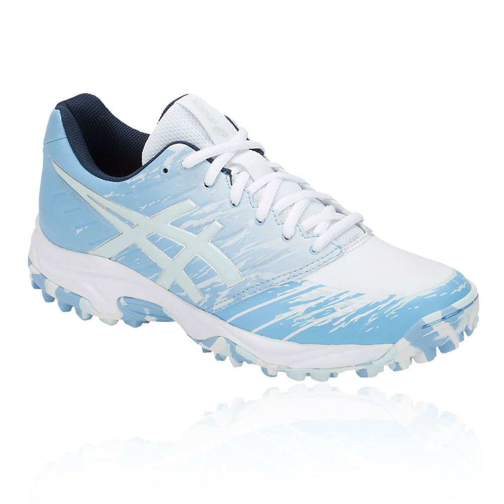 Details about Asics Womens Gel Blackheath 7 Hockey Shoes Pitch Field Blue White Trainers