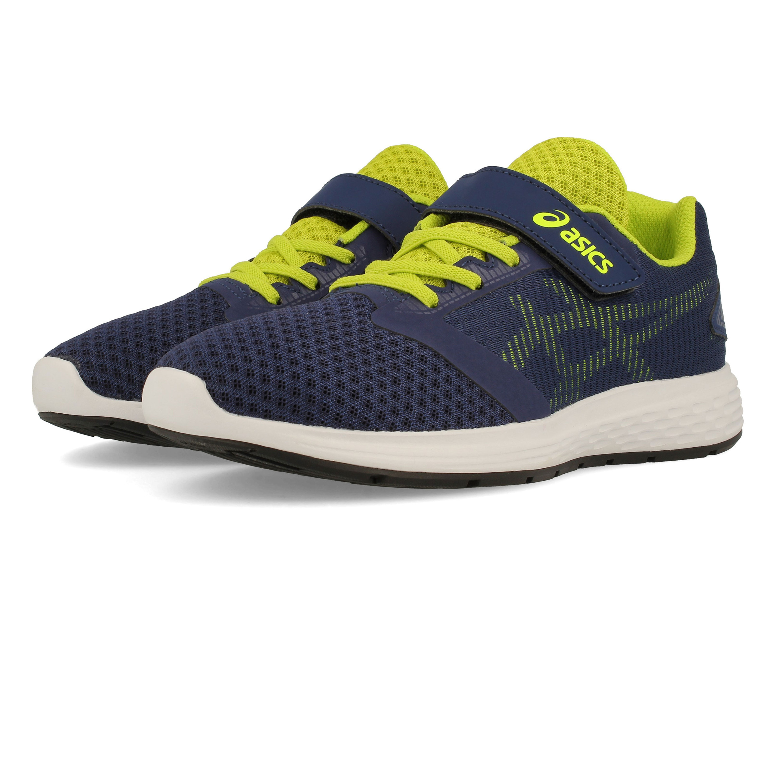 Asics Mens Patriot 10 Running Shoes Trainers Sneakers Blue Sports Breathable