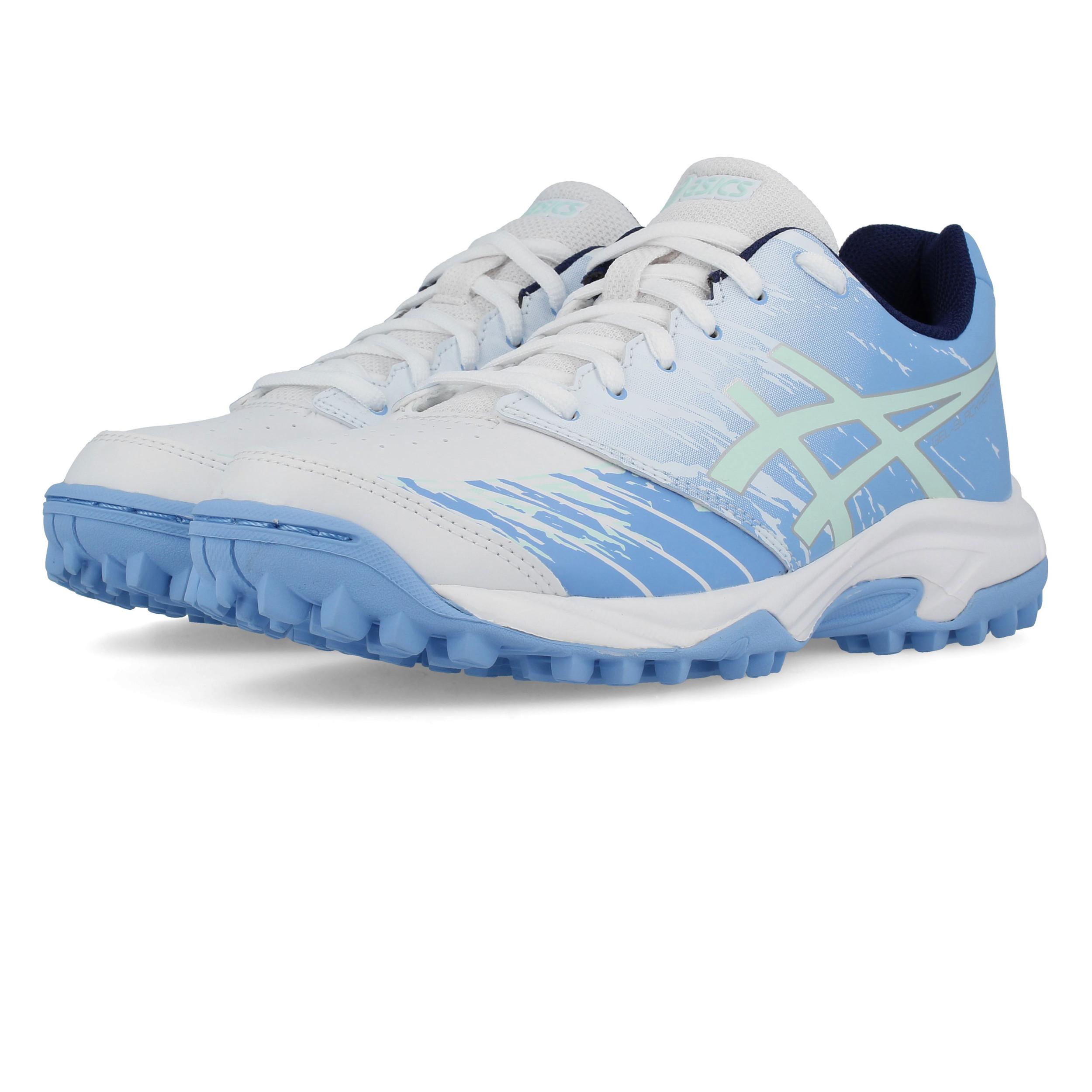 2f8711cc7e Asics Junior Gel-Blackheath 7 GS Hockey Shoes Pitch Field Blue White  Trainers