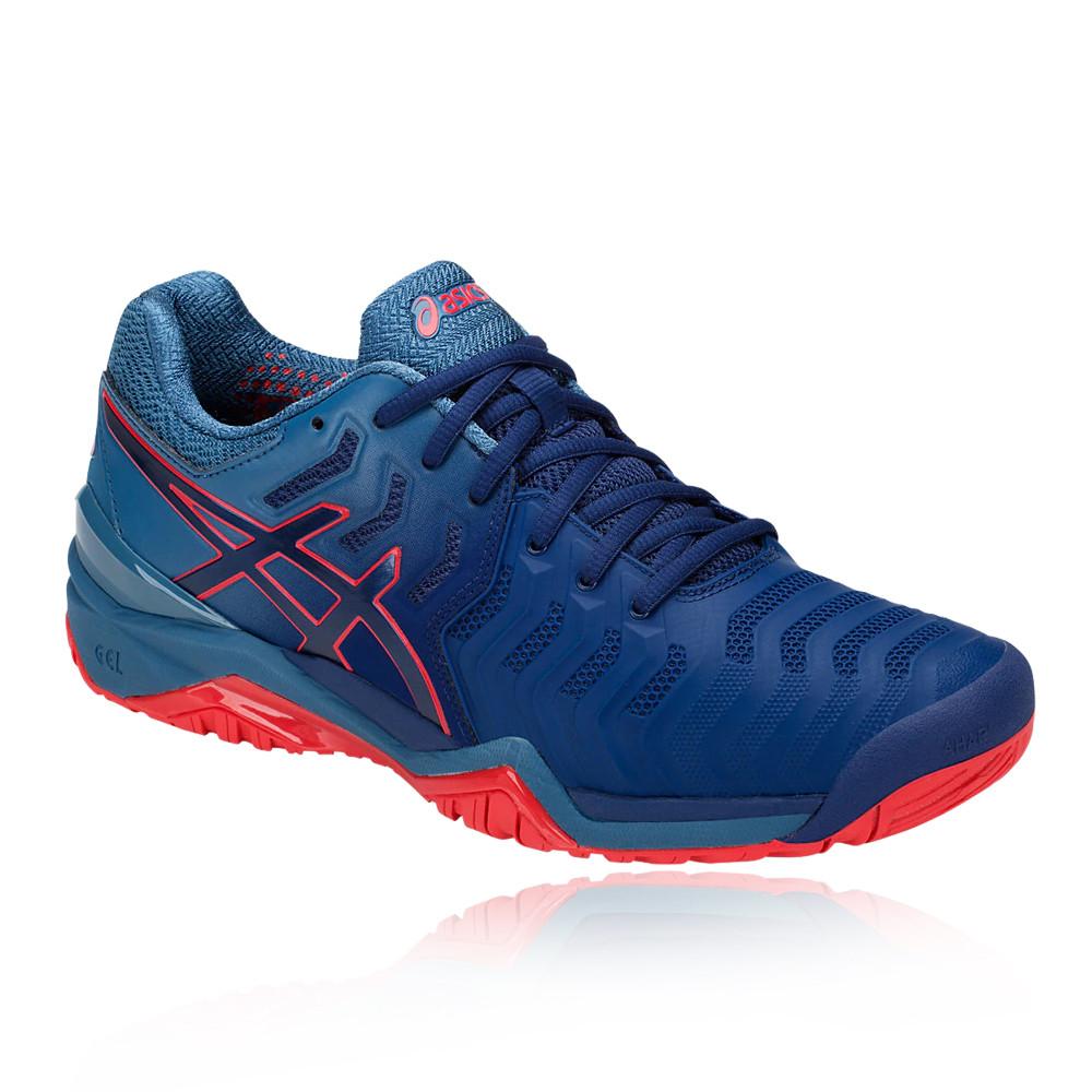 Tennis Asics Remise 40 Aw18 Resolution 7 Gel De Chaussures 81BWrX1wq