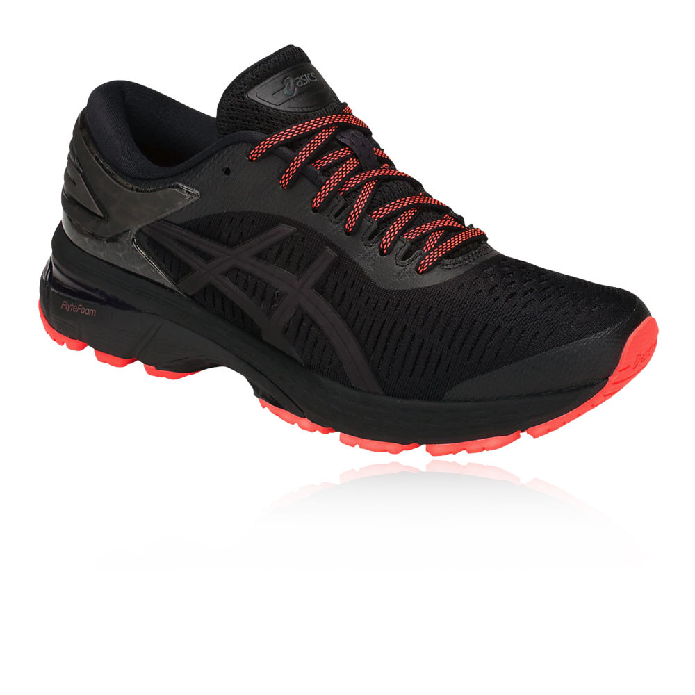 92affa620c9 Asics Mujer Gel-kayano 25 Lite Show Correr Zapatos Zapatillas Negro Running