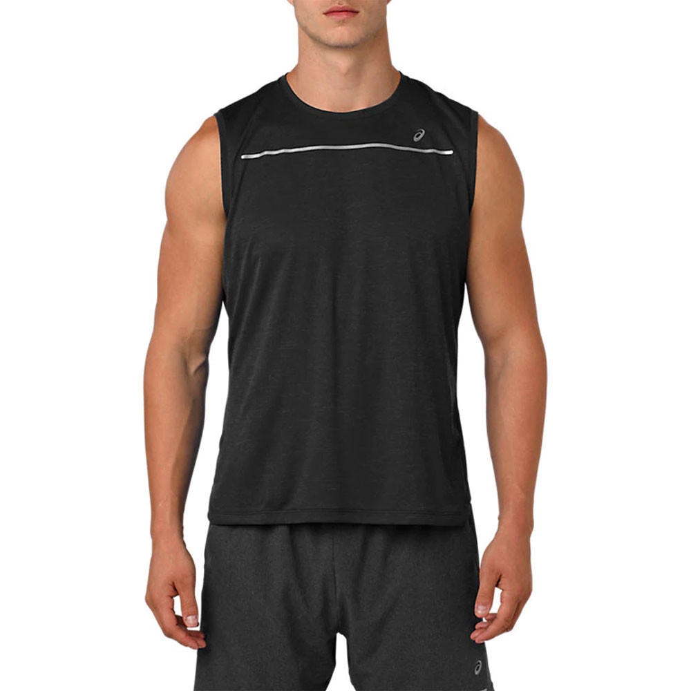AW18 Ropa deportiva Asics Lite-Show Sin Mangas Top Hombre ...