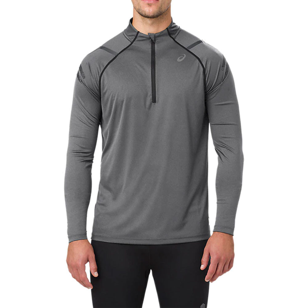 Asics Icon Long Sleeved 1/2 Zip Running Top - AW19